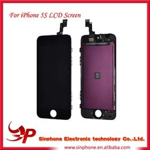 brand mobile phone lcd For apple iphone 5s original unlocked lcd for iphone 5s digitizer touch screen
