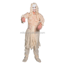 Party masquerade halloween adult men white Egyptian mummy costume MAB-46