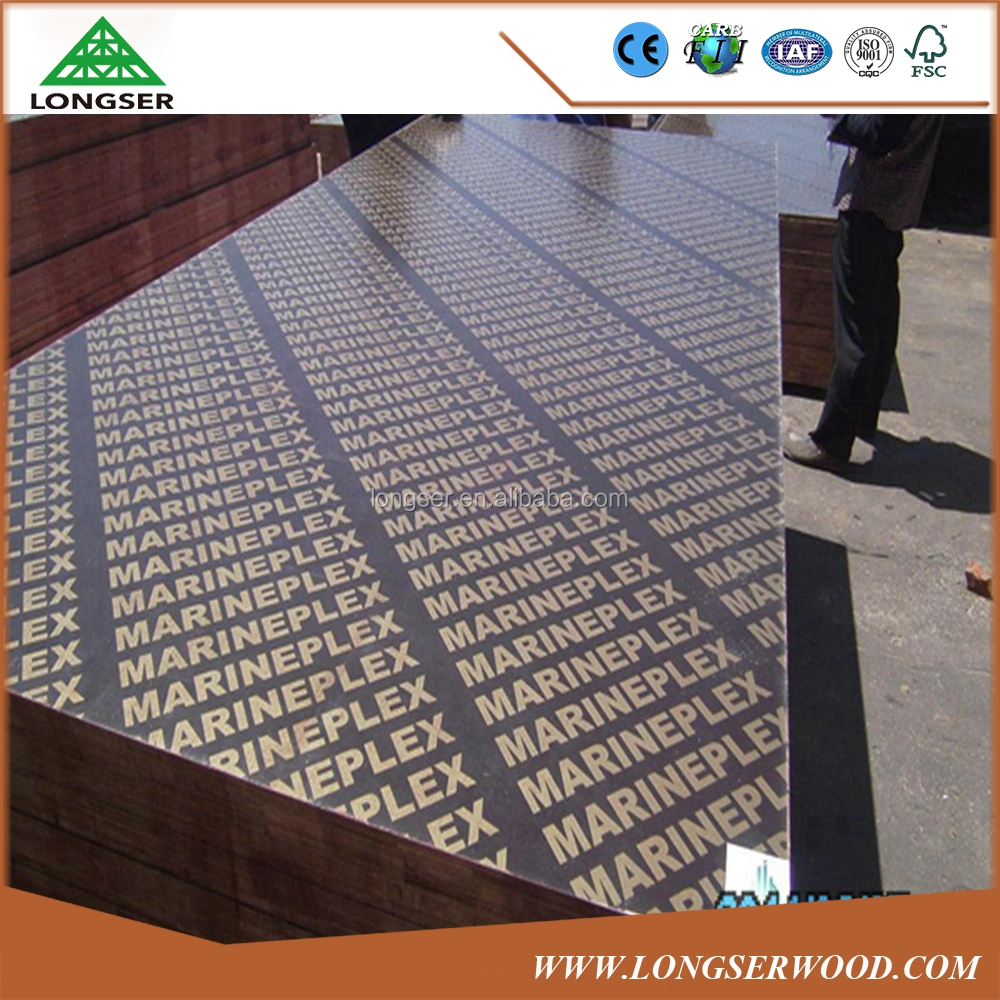 Construction Materials Waterproof 18mm Marine Plywood