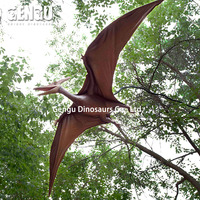 All kinds of Pterosaur in amusement park