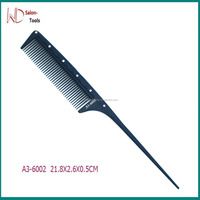 diamond tail comb fine cutting Comb heat resistance Professional styling