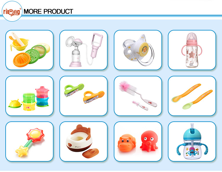 New Design Cute Wholesale Silicon Baby Nipple