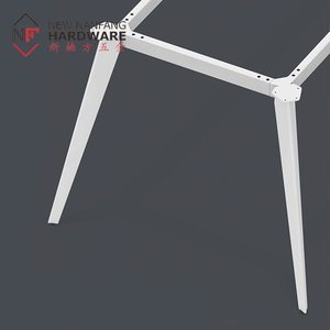 Factory direct supply cheap price powder coated metal office furniture table legs