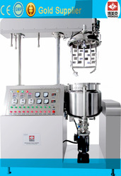 Guangzhou 10-300L vacuum homogenizing emulsifier, grease / pharmaceutical homogenizer