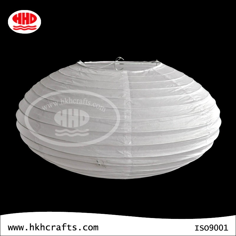 Wedding party decoration hanging white round oval square paper lantern