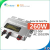 Hot Sales! Single Phase Inverter / Pure Sine Wave Solar Micro Inverter