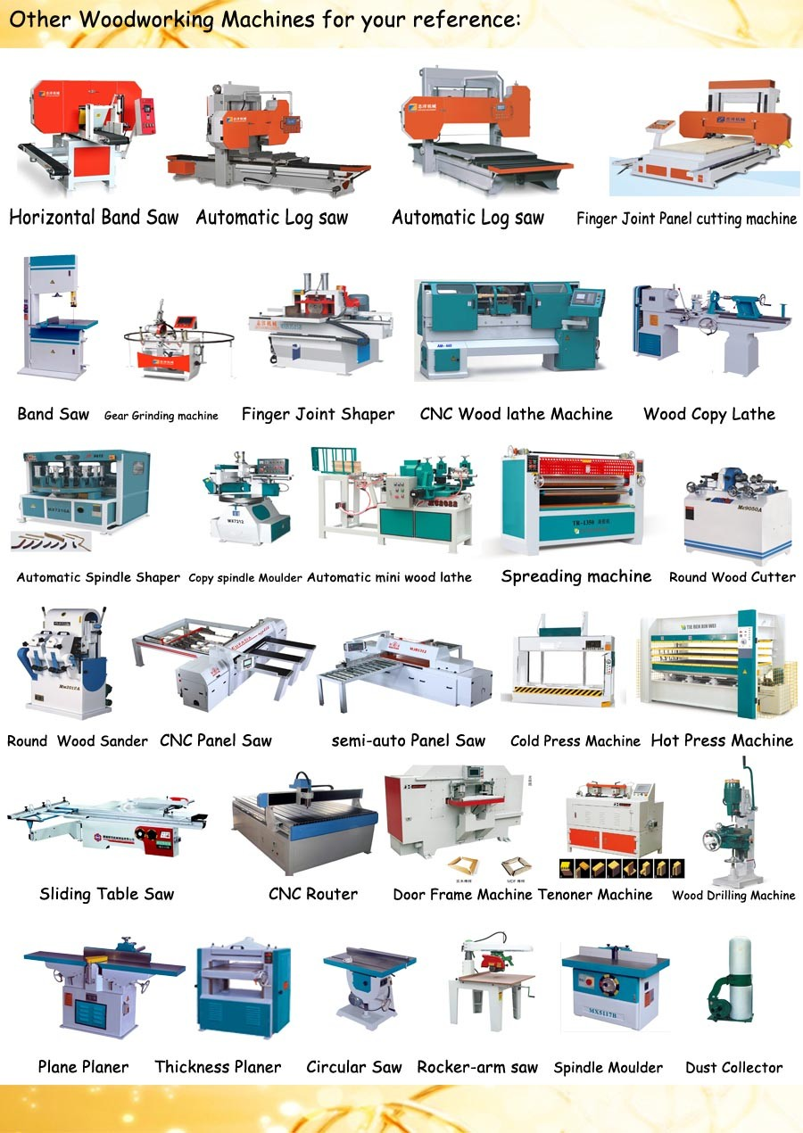 Auto wood copy shaper machine with automatic feeder