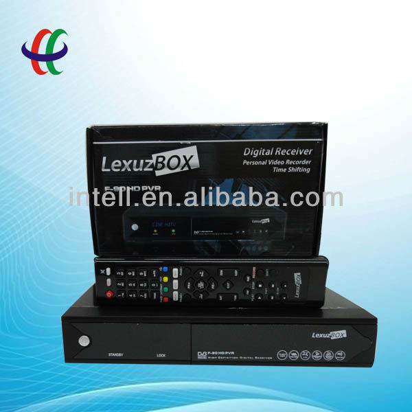 digital cable decoder original Lexuzbox f90 support Nagra3 for south America market