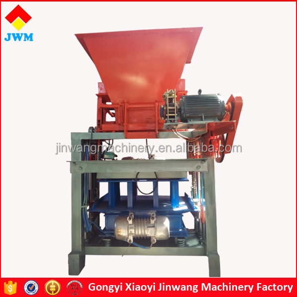 high efficiency low price simple concrete block making machine