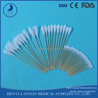 E0-sterile medical ear cotton swabs