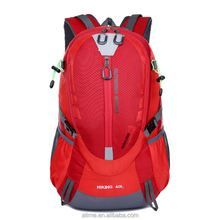China wholesale custom hiking backpack,climbing backpack,sports backpack with alpenstock