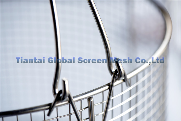 High quality various material filter meshes stainless steel mesh basket