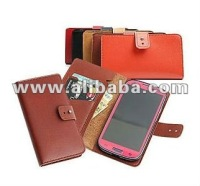 Guardian Leather Wallet type Case for iphone 5, 4S, 4, Samsung Galaxy S3