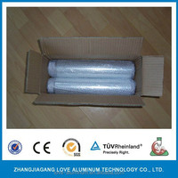Four Rolls Per Case With Bubble Packing Aluminum Foil Roll