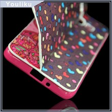 wholesale alibaba double picture flip mobile phone leather cover for nokia e71 for samsung e7