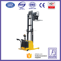 Narrow aisle used electric reach stacker price made in China