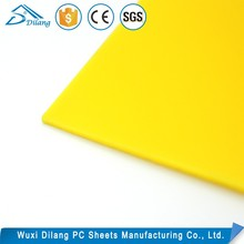 PC Material thick polycarbonate sheet Advertisine Diffusion solid sheet