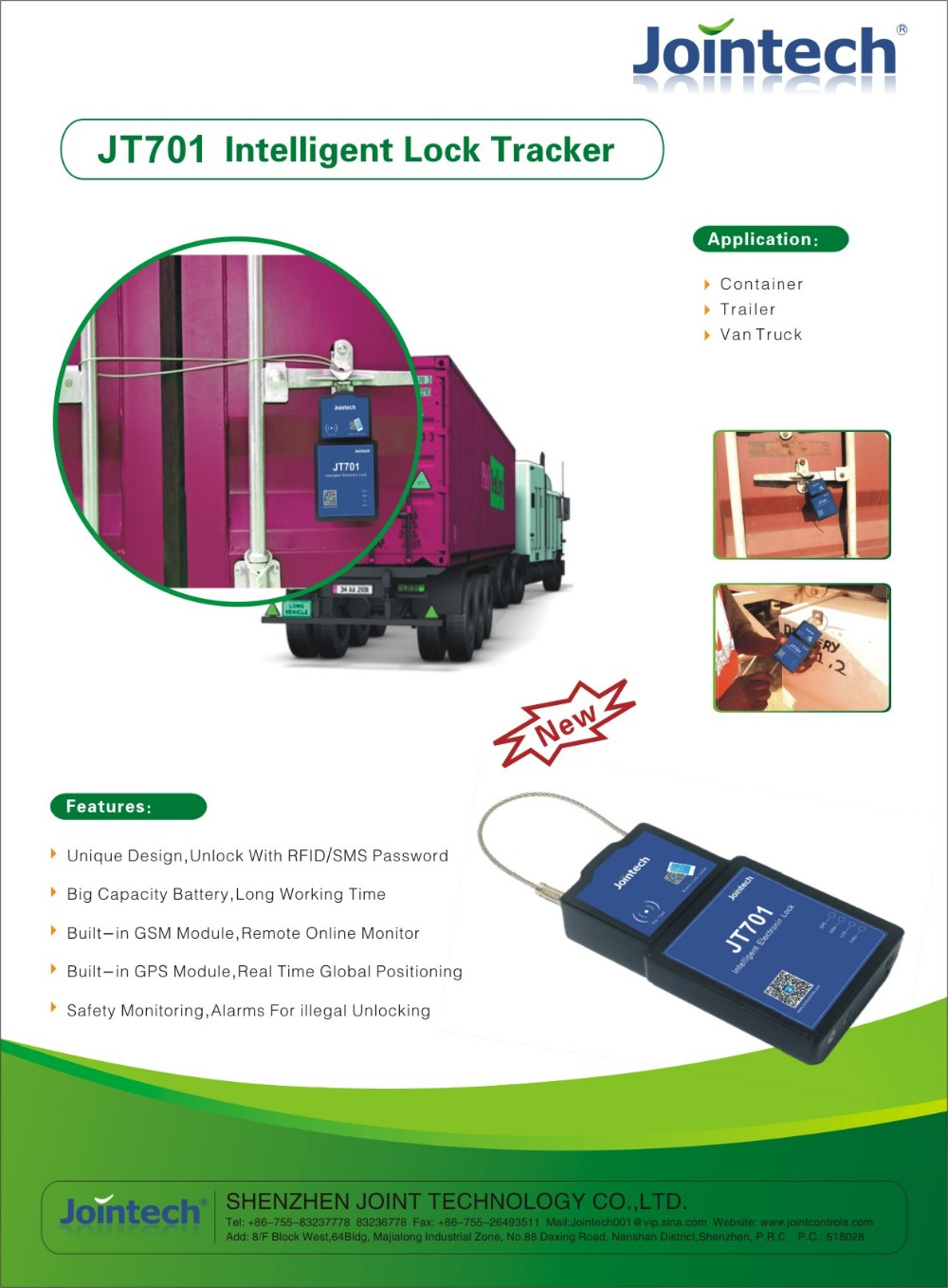 GPS container E lock container sealing lock tracker for container locking, and cargo security solution