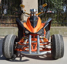 Electric utility atv with 3kw 72v moto, 4*4 wheels drive with shaft drive