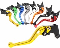 2017 CNC racing K1600 GT K1600 GTL hand brake and clutch lever anodization color T6061 aluminum autobike spare part