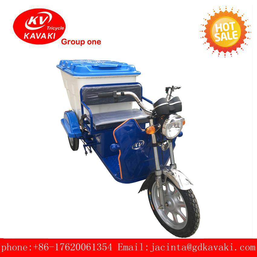 2018 electric freight transporter three wheel cargo adul tricycle with electric wheel hub motor