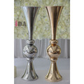 Metal flower vase decoration for home and party