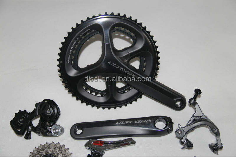 bicycle groupset ultegra 6700, road bike groupset, complete bike groupset 6700,6800,105 for sale