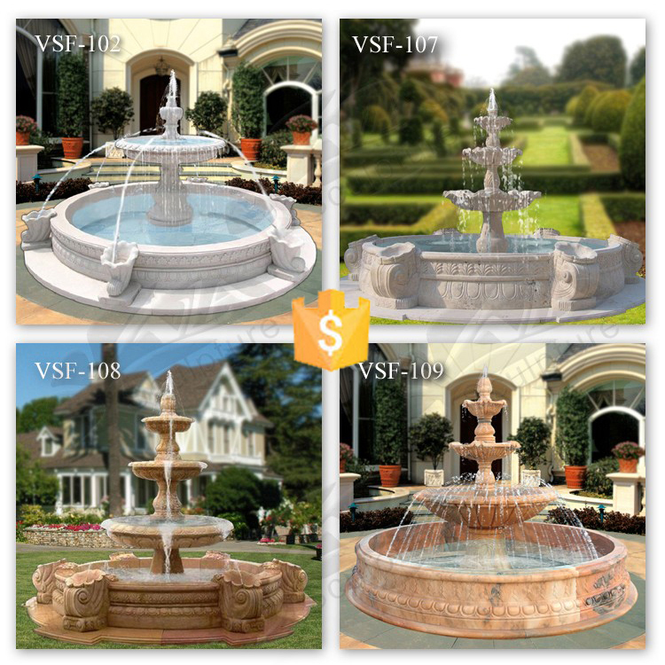 2016 Hot Sale Garden Stone Water Features with Custom-made Service