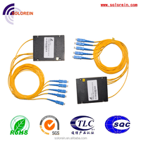 Hot selling 1x4 1310/1550 passive optical fiber PLC Splitter