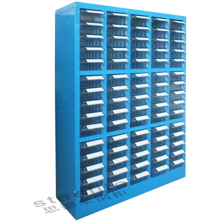 Cheap price factory sale small drawer plastic drawer cabinet/ 75 drawers plastic parts cabinet