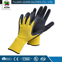 Non Disposable Safety Knitted Craft Skin Color Latex Gloves