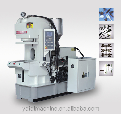 Plug injection moulding machine