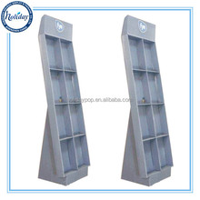 Paper Magazine Cardboard Display Rack,Foldable Magazine Holder