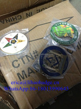 3D Die Casting Auto Custom Emblem Car Logos Masonic Emblem Badge