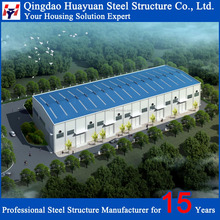 Low Cost Prefabricated Light Steel Structure Warehouse in Europe