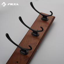 North America Oil Rubbed Bronze Filta double robe wholesale antique vintage wall coat hooks,clothing hook
