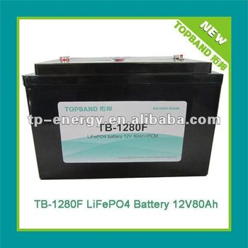 One top solution!!! lifepo4 12v storage battery for solar/wind system