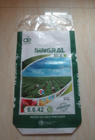 excellent quality classical bopp film laminated pp woven fertilizer bag