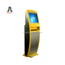 Indoor Foreign Currency Exchange Self Service Payment Kiosk Machine