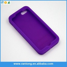 Newest product fashionable colorful silicone case for iphone 5c Fastest delivery