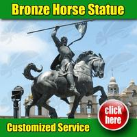 Brand new Horse Sculpture in scotland made in China