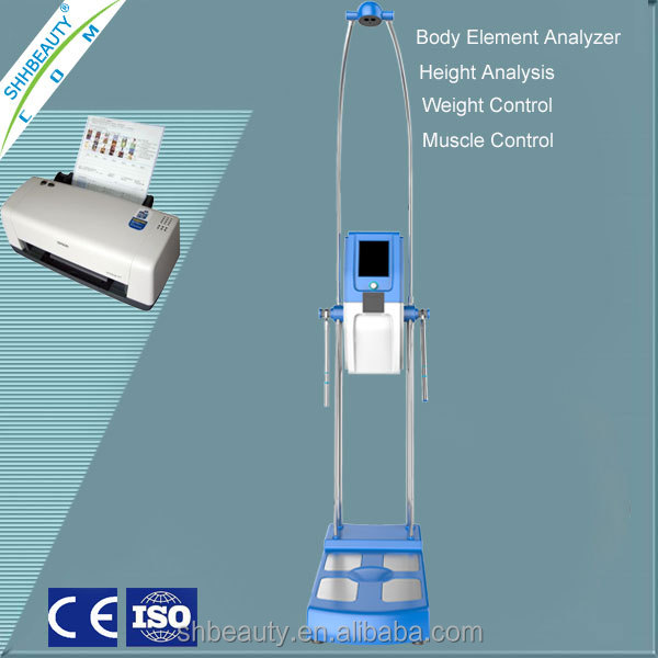 New product Body composition fat analyzer /Fat control body fat test machine ODM