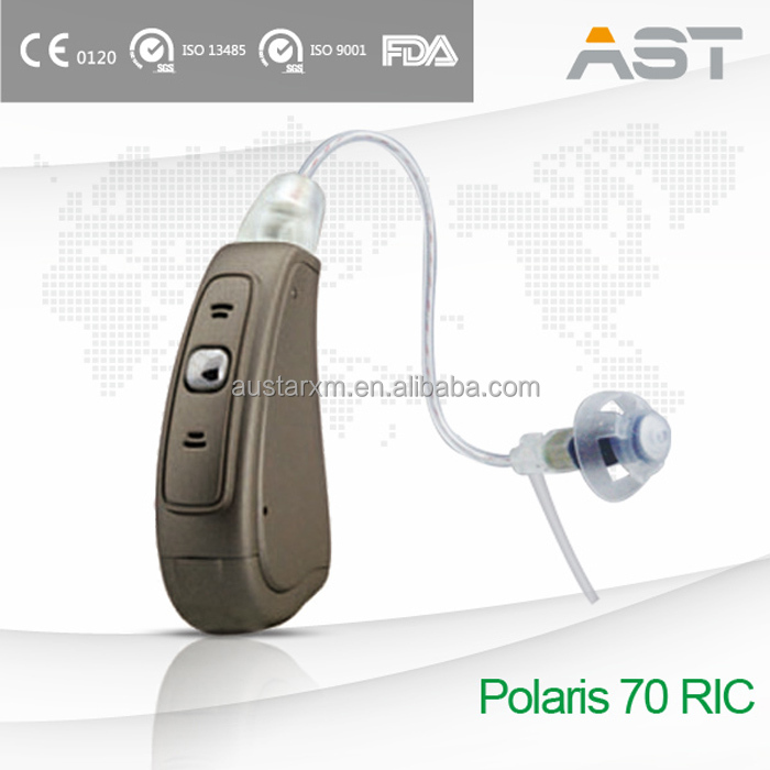 Polaris 70 Software Programming Hearing Aid RIC keep exact fitting result