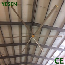 24FT HVLS industriaL 1.5 KW low watt fan air cool fan