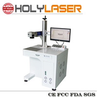 China factory price 20w fiber laser marking cutting machine price for all the fonts in windows