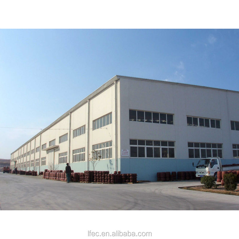 Galvanized steel low cost industrial shed designs