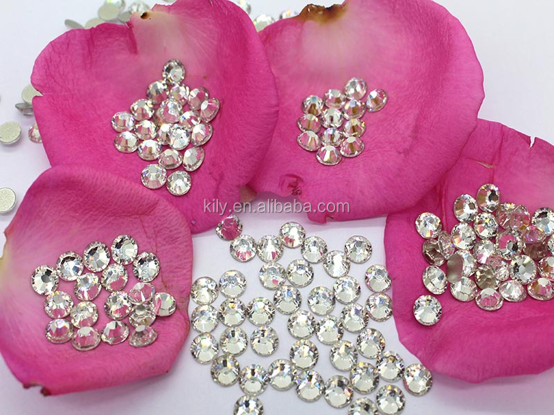 Wholesale Shinning Kily Rhinestone Flatback /Austrian Rhinestones Crystal Flat Back For human Body