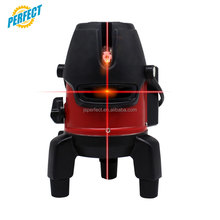 Factory construction rotary 360 cheap new red 5 beams cross line plumb auto laser level photo for flooring and decoration
