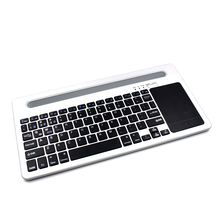 New style US Standard ultra thin bluetooth Wireless Keyboard With Touchpad for Windows&Google TV Box