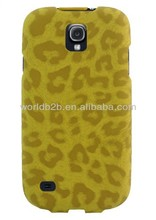 Leopard Leather Multi Angle Stand Case Hard Cover for Samsung Galaxy S4 SIV I9500